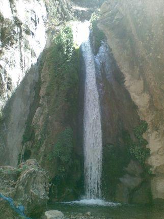 آبشار دهکده زراس