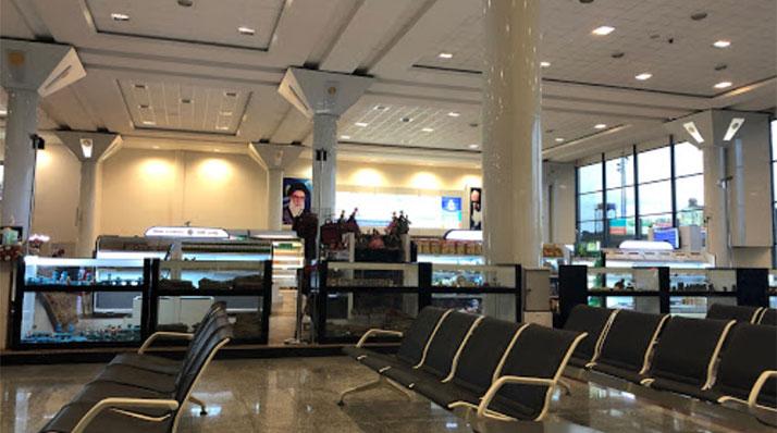 سالن فرودگاه بینالمللی شهید دستغیب شیراز