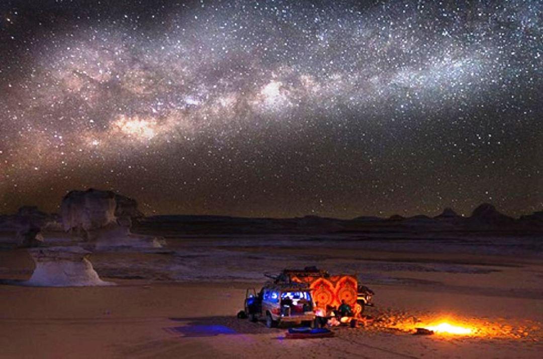 رصد ستارگان در کویر ورزنه