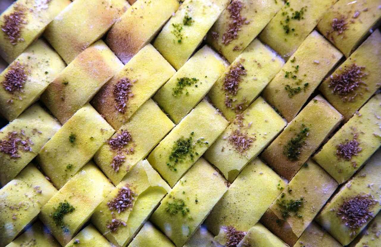 Yookhe Bread Or Kaak Bread